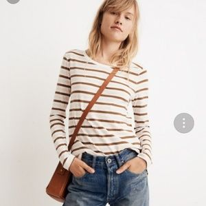 Madewell long sleeve striped t-shirt